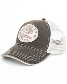Cody James Men's Buffalo Coin Patch Cap , Rust Copper, hi-res