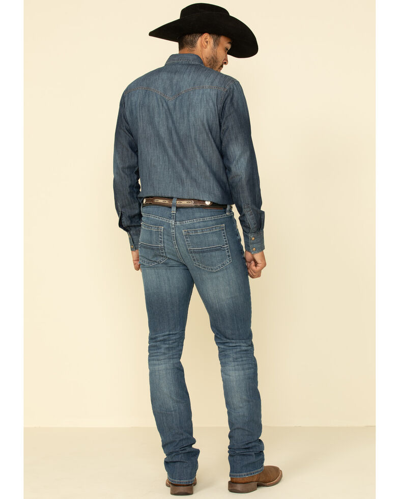Cody James Men's Fisticuff Stackable Stretch Straight Jeans , Blue, hi-res