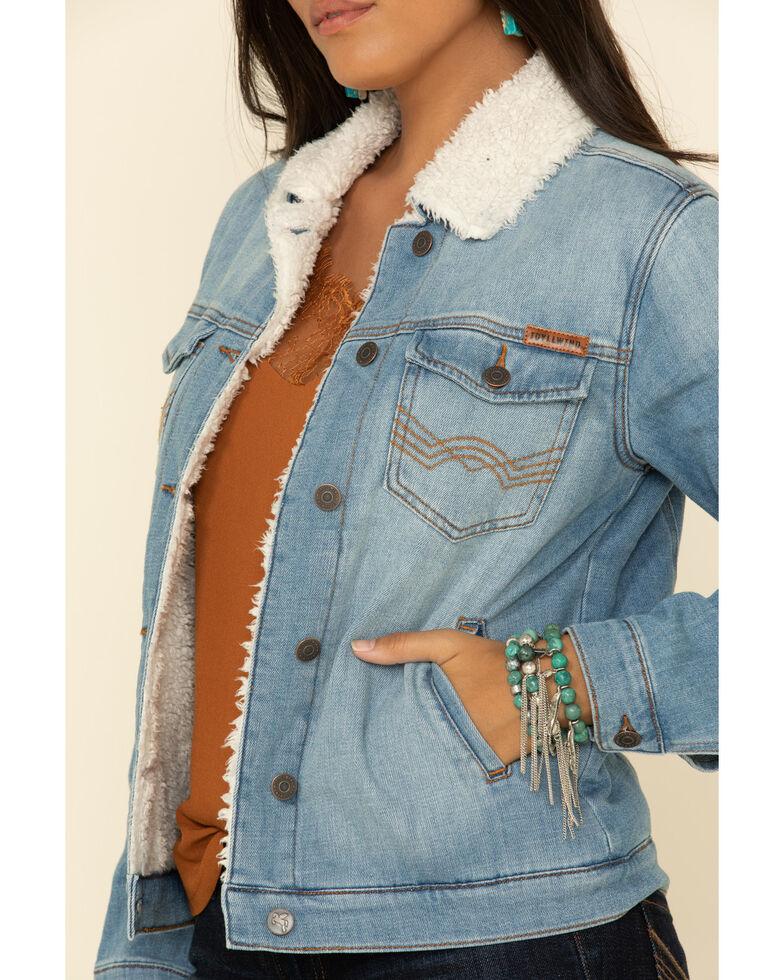 Idyllwind Women's Denim Western Blues Jacket, Blue, hi-res