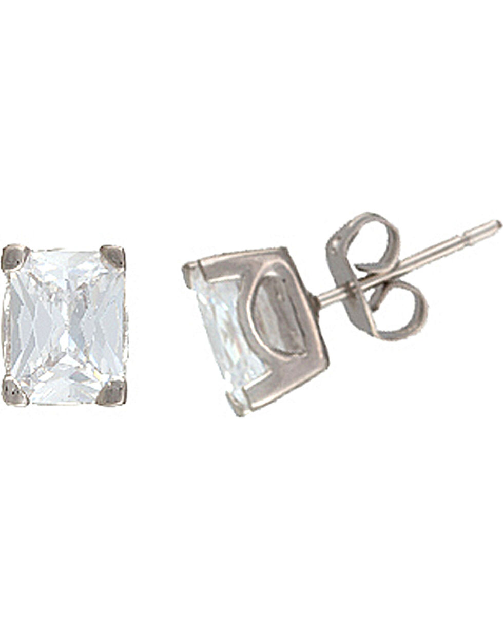 Montana Silversmiths Star Lights Oval Stud Earrings, Silver, hi-res