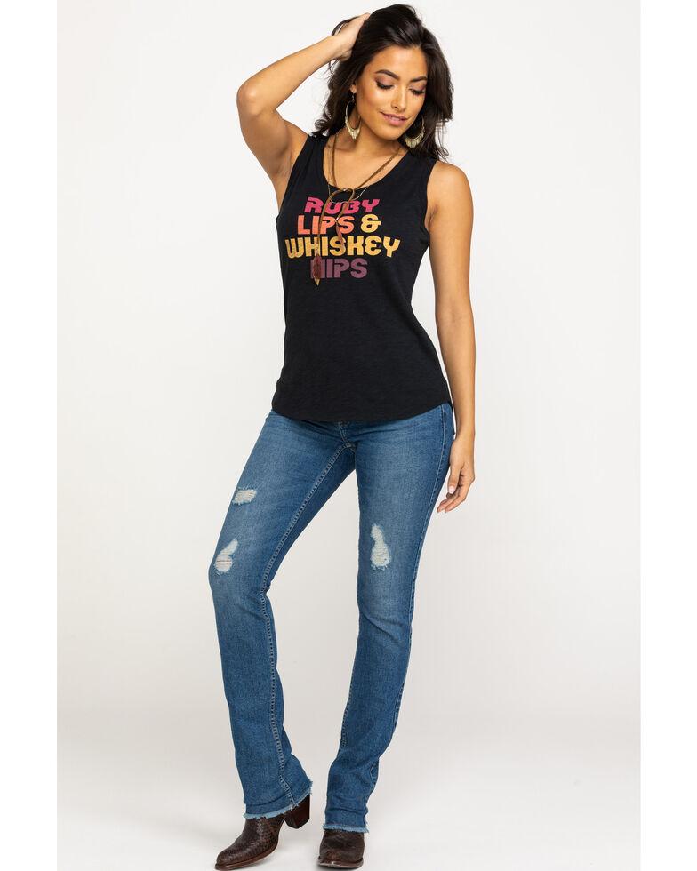 Idyllwind Women's Whiskey Hips Trustie Tank Top, Black, hi-res