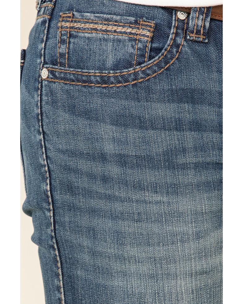 Rock & Roll Cowboy Men's Revolver Stretch Slim Straight Jeans , Blue, hi-res