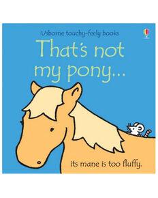 Usborne That's Not My Pony Children's Book, Multi, hi-res