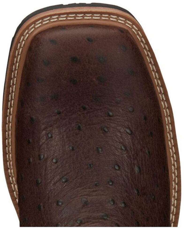 Justin Men's Derrickman Western Work Boots - Soft Toe, Rust Copper, hi-res
