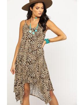 Nikki Erin Women's Leopard Slip Dress, Leopard, hi-res