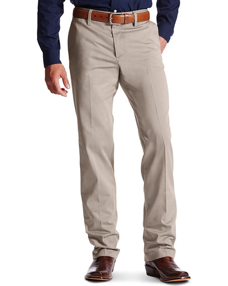 Ariat Men's M2 Performance Khaki Pants , Grey, hi-res