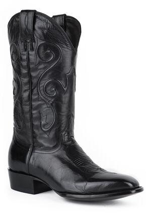 Stetson Darringer Cowboy Boots - Square Toe, Black, hi-res