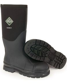Muck Boots Chore Hi Work Boots - Steel Toe, Black, hi-res