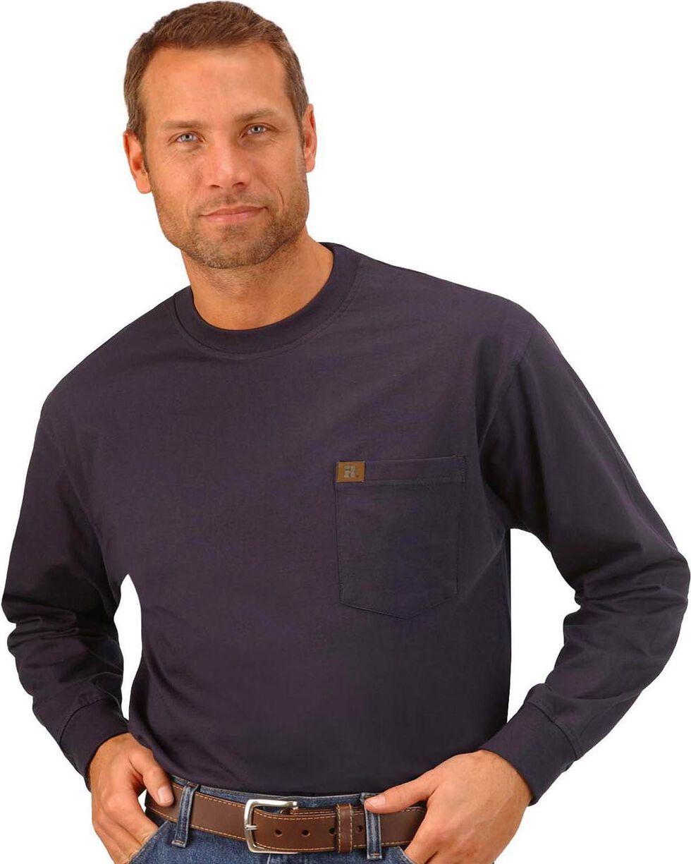 Wrangler Riggs Workwear Pocket Tee, Navy, hi-res