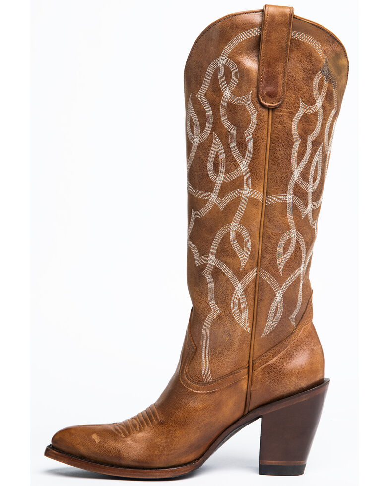 Idyllwind Women's Revenge Western Boots - Round Toe, Tan, hi-res