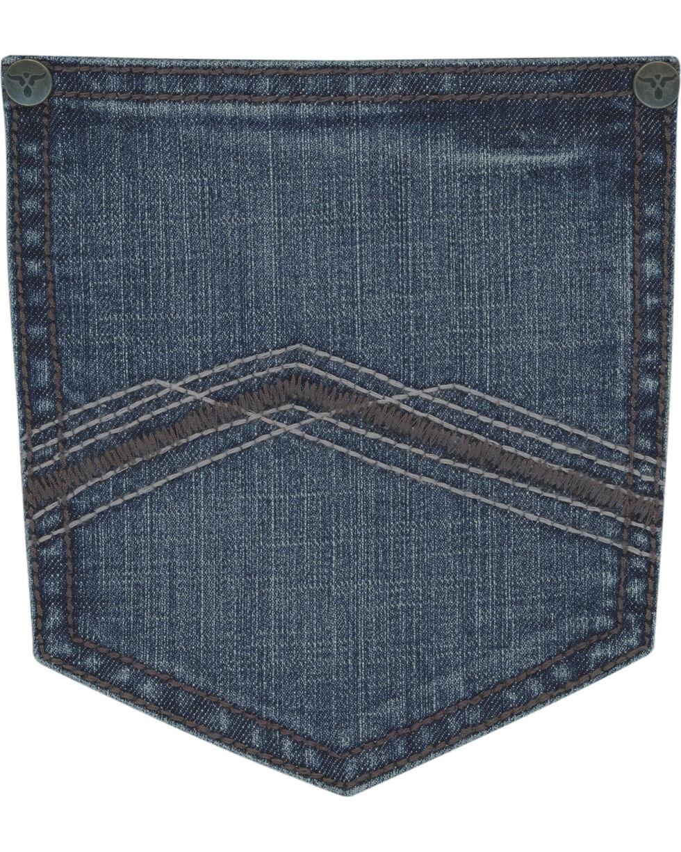 Wrangler 20X Men's Blue 44 Slim Fit Jeans - Straight Leg , Light Blue, hi-res