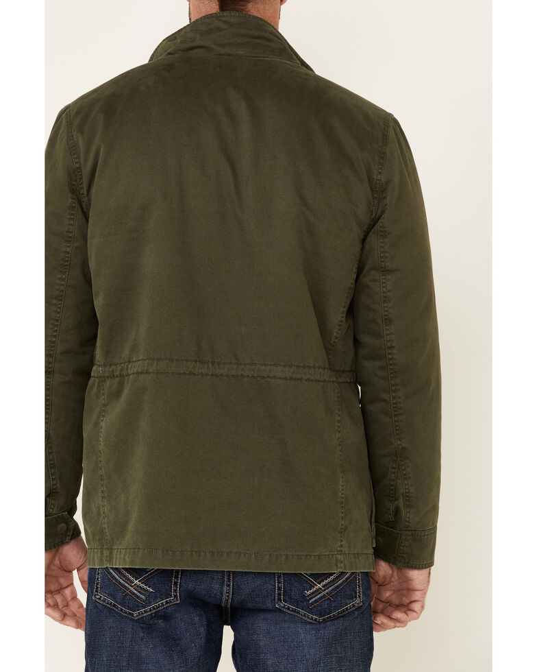 Flag & Anthem Men's Olive Springhill Sherpa-Lined Jacket , Olive, hi-res
