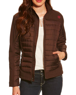 Ariat Women's Brown Blast Jacket, Brown, hi-res