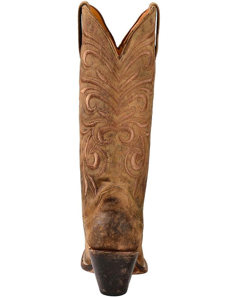 Lucchese Handmade 1883 Women's Laurelie Cowgirl Boots - Medium Toe, Brown, hi-res