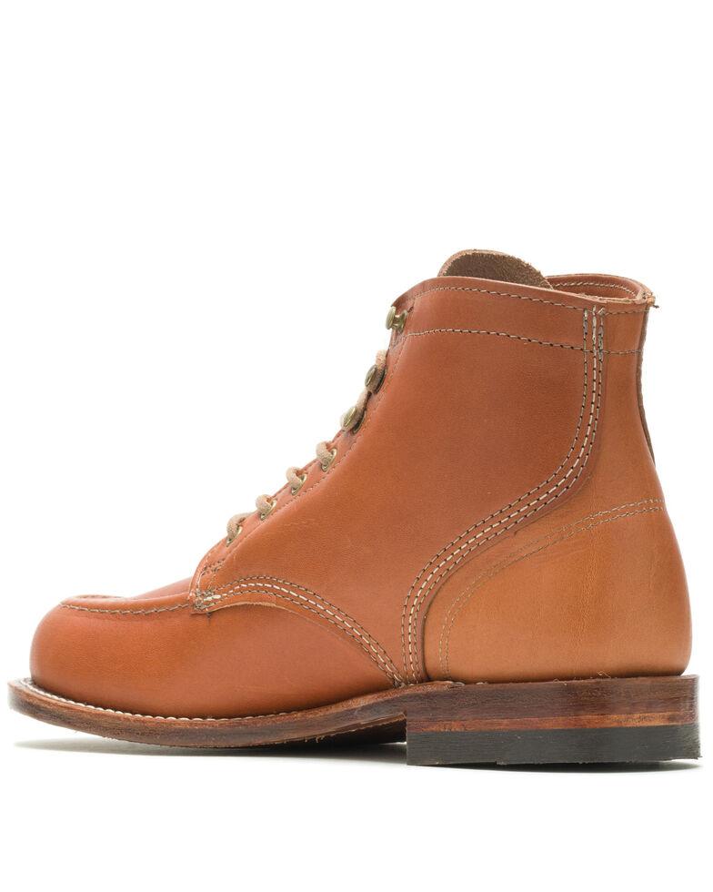 Wolverine Men's 1000 Mile 1940 Tan Boots - Round Toe, Tan, hi-res