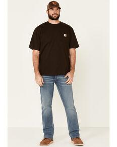 Wrangler Retro Men's Burleson Light Relaxed Bootcut Jeans , Blue, hi-res