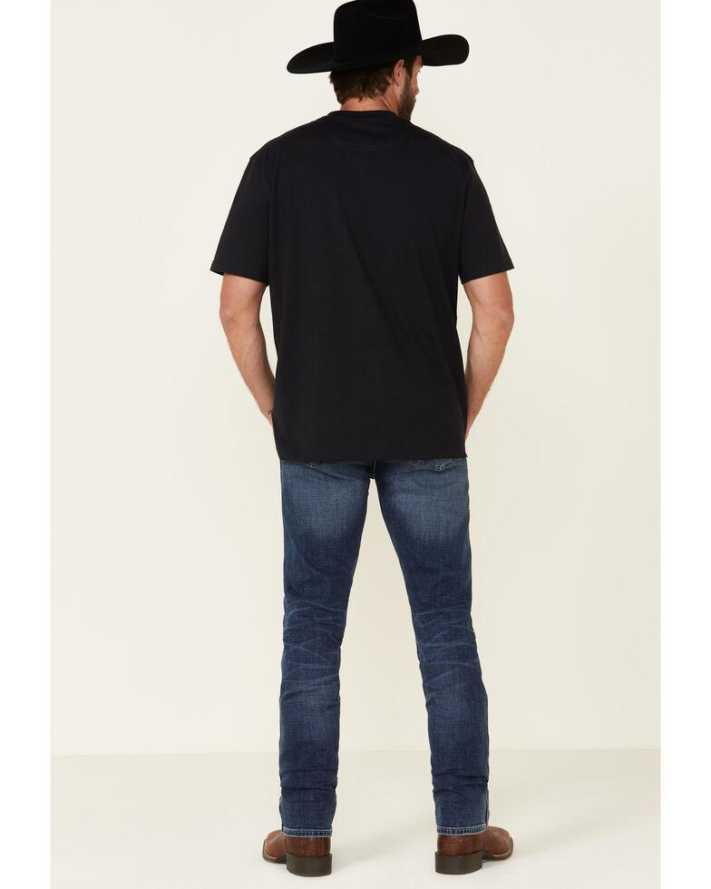 Wrangler Retro Premium Men's Pedernales Falls Stretch Slim Straight Jeans , Blue, hi-res