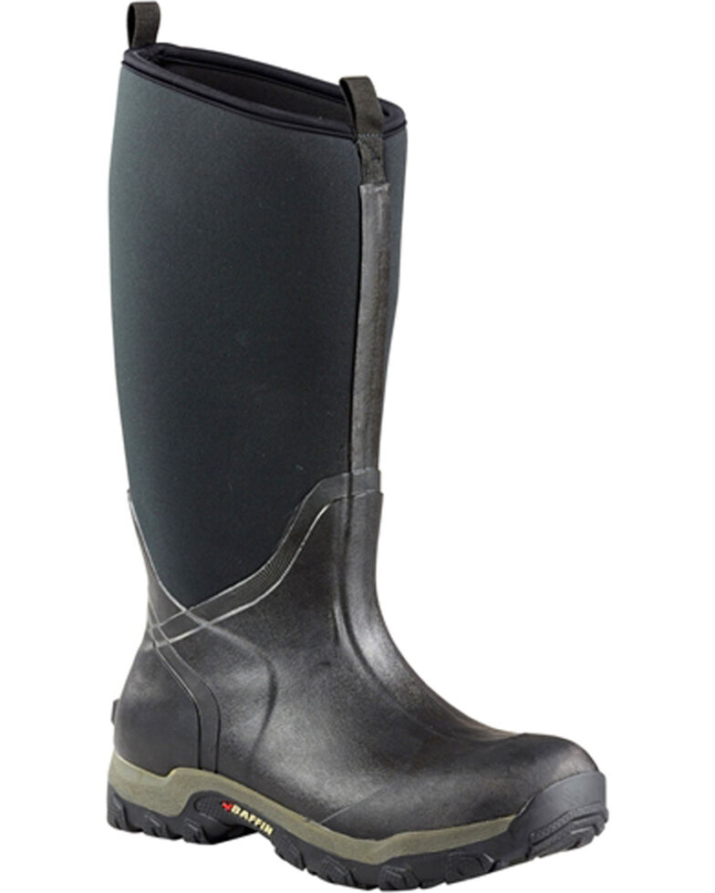 Baffin Men's Black Marsh Series Meltwater Boots - Round Toe , Black, hi-res