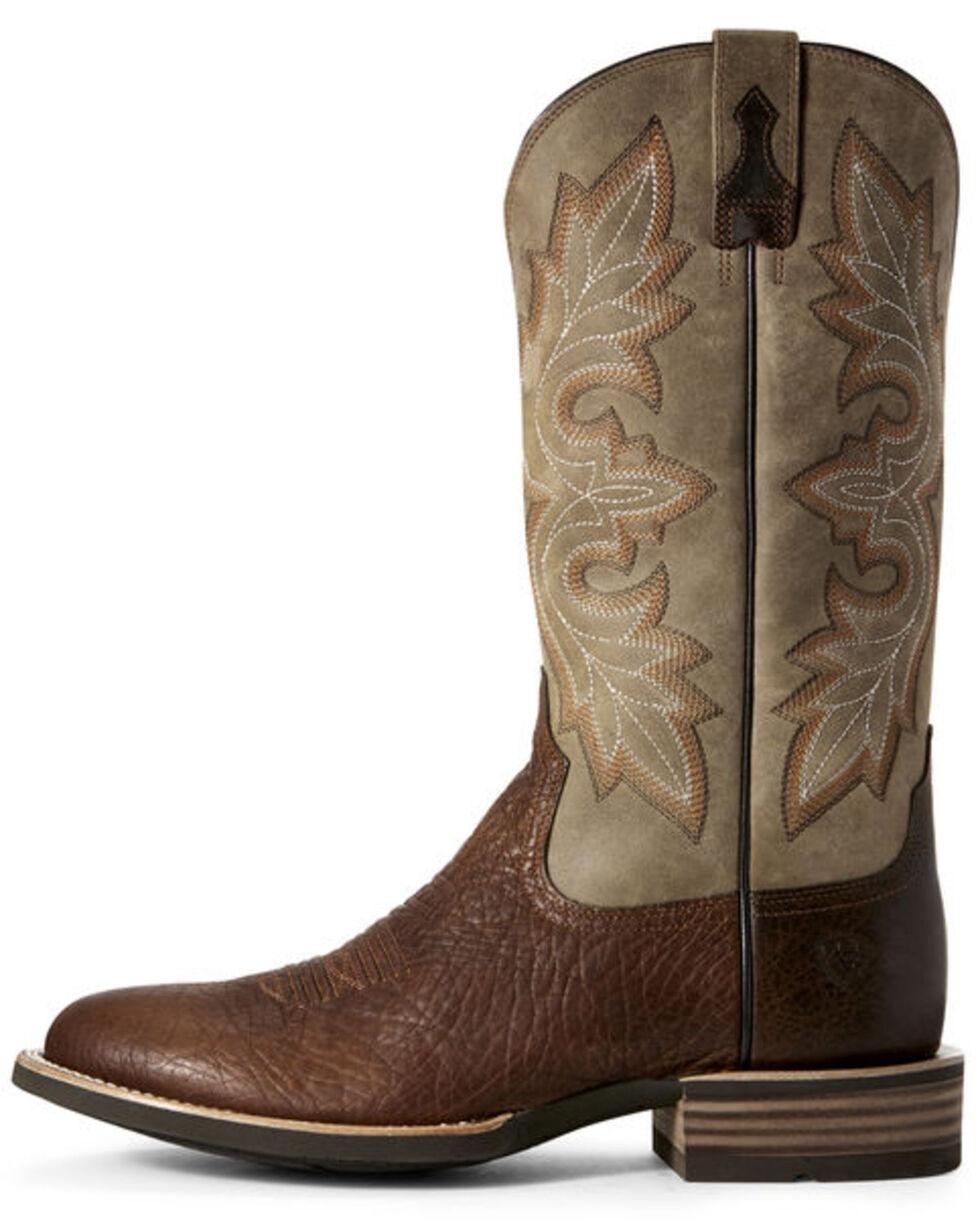 Ariat Men's Quickdraw Lockwood Western Boots - Round Toe, Brown, hi-res