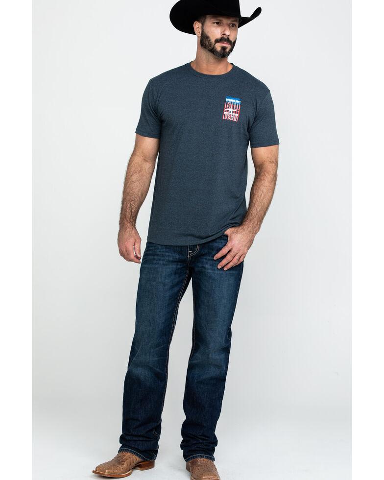 Cody James Men's Flag Rights Graphic T-Shirt , Blue, hi-res