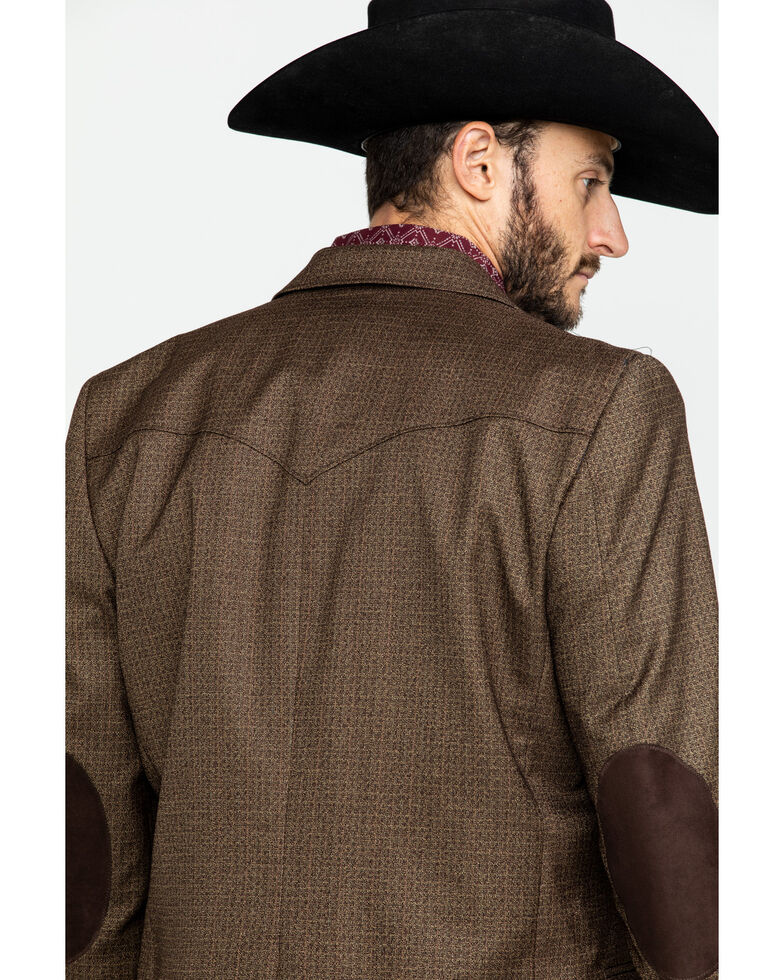 Cripple Creek Men's Solid Chestnut Houston Sport Coat  , Chestnut, hi-res