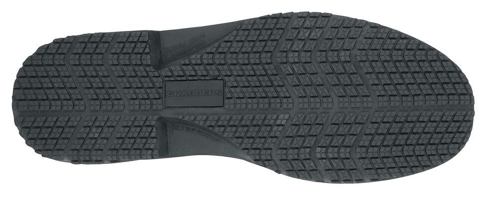 Grabbers Women's Friction Work Shoes, Black, hi-res