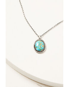 Broken Arrow Women's Sonoran Mountain Necklace, Silver, hi-res
