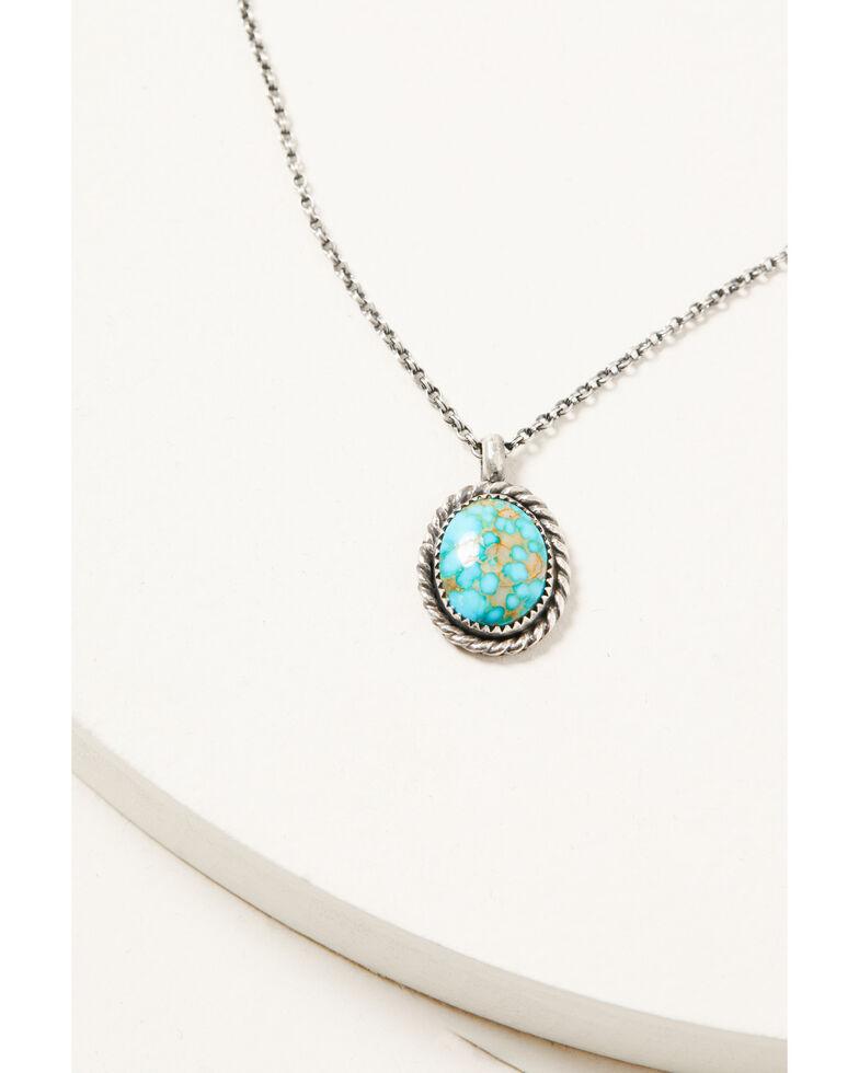 Broken Arrow Women's Sonoran Mountain Necklace, Silver, hi-res