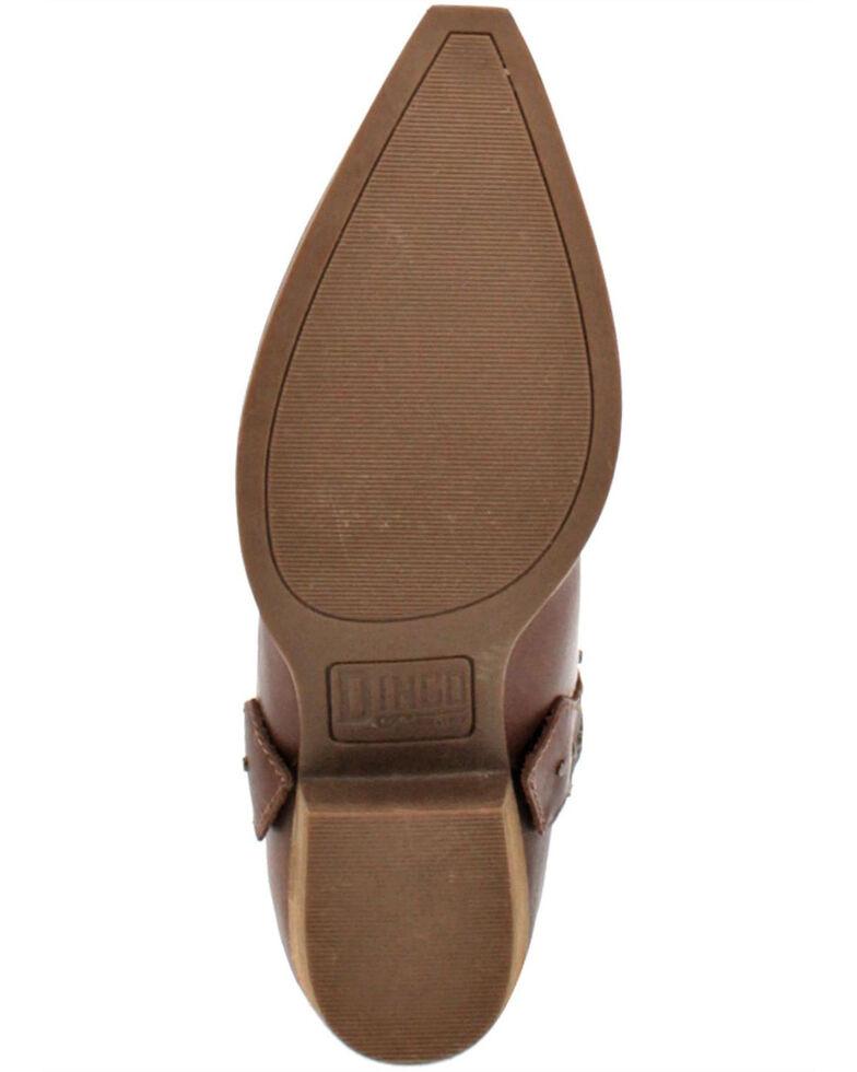 Dingo Women's True West Western Boots - Snip Toe, Brown, hi-res