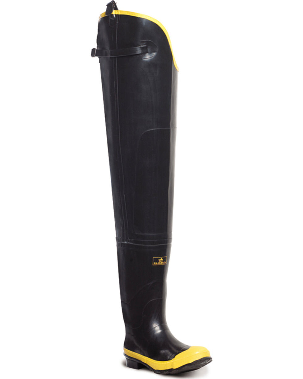 "Lacrosse Men's Economy 32"" Hip Boots - Steel Toe, Black, hi-res"