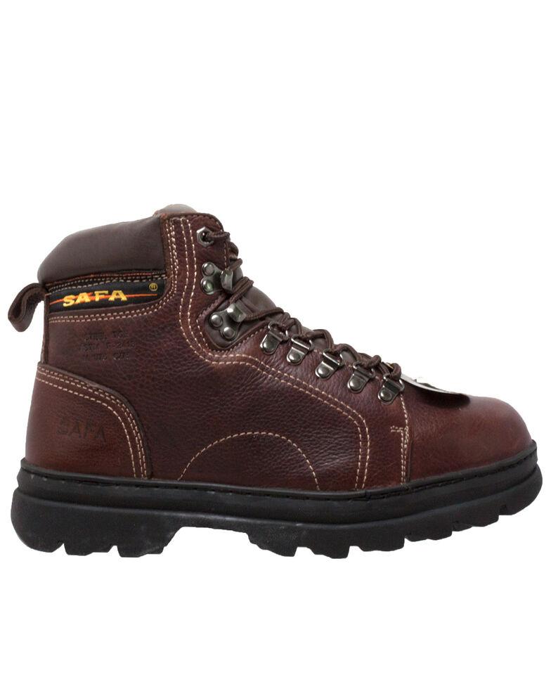 """Ad Tec Men's 6"""" Metatarsal Hiker Boots - Soft Toe, Brown, hi-res"""