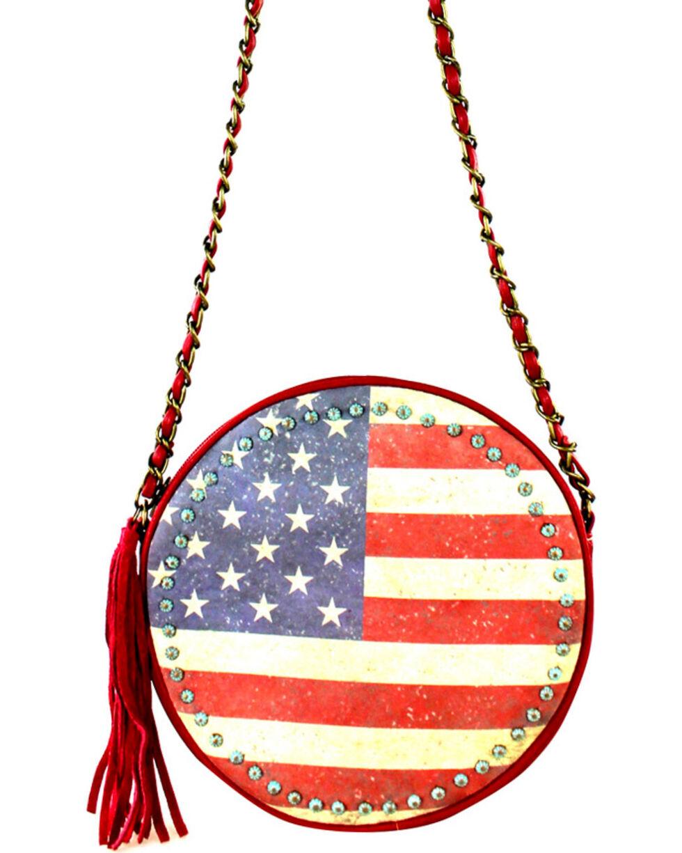 Montana West American Pride Round Shaped Shoulder Bag, , hi-res