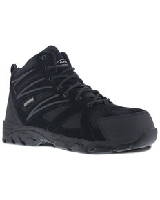 Knapp Men's Ground Patrol Waterproof Work Boots - Composite Toe, Black, hi-res
