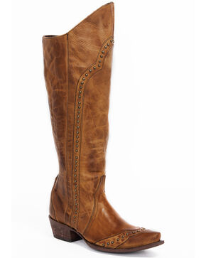 Idyllwind Women's Heart Breaker Western Boots - Snip Toe, Brown, hi-res