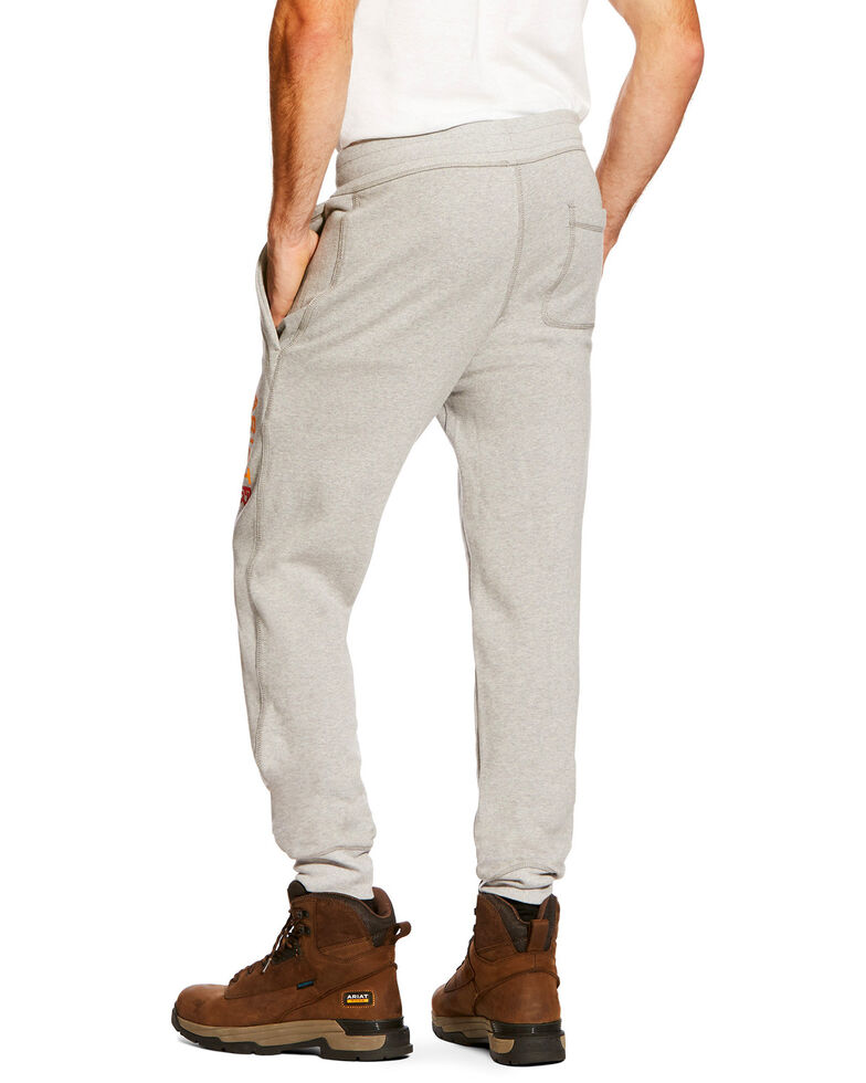 Ariat Men's FR Work Sweatpants - Big, Heather Grey, hi-res