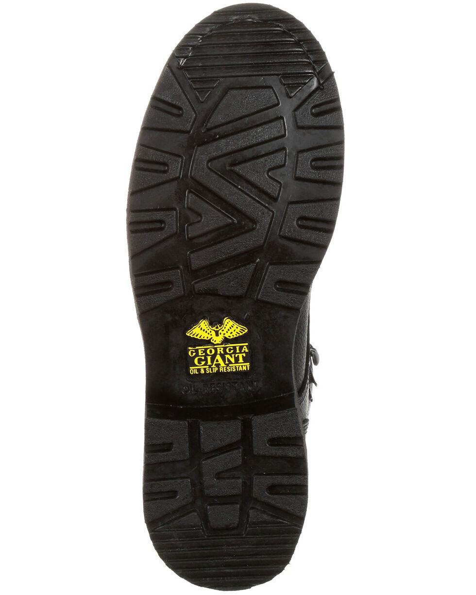 Georgia Boot Men's Giant Waterproof Work Boots - Steel Toe, Black, hi-res