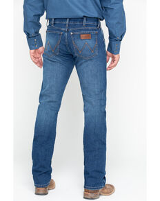 Wrangler Men's Red River Slim Straight Jeans, Blue, hi-res