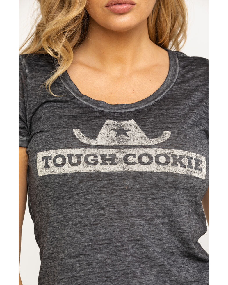 Idyllwind Women's Tough Cookie Trustie Tee, Black, hi-res