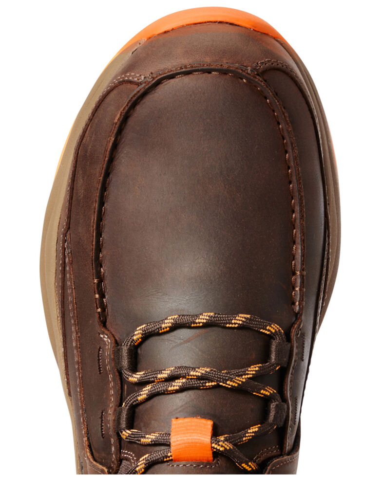 Ariat Men's Working Mile Work Boots - Composite Toe, Brown, hi-res