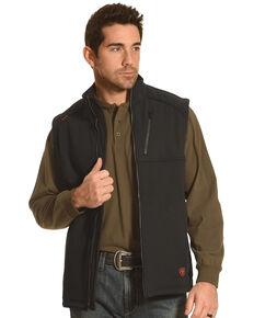 Ariat Men's Work Flame Resistant Black Work Vest, Black, hi-res