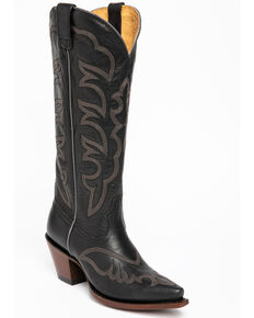 Shyanne Women's High Desert Western Boots - Snip Toe, Black, hi-res