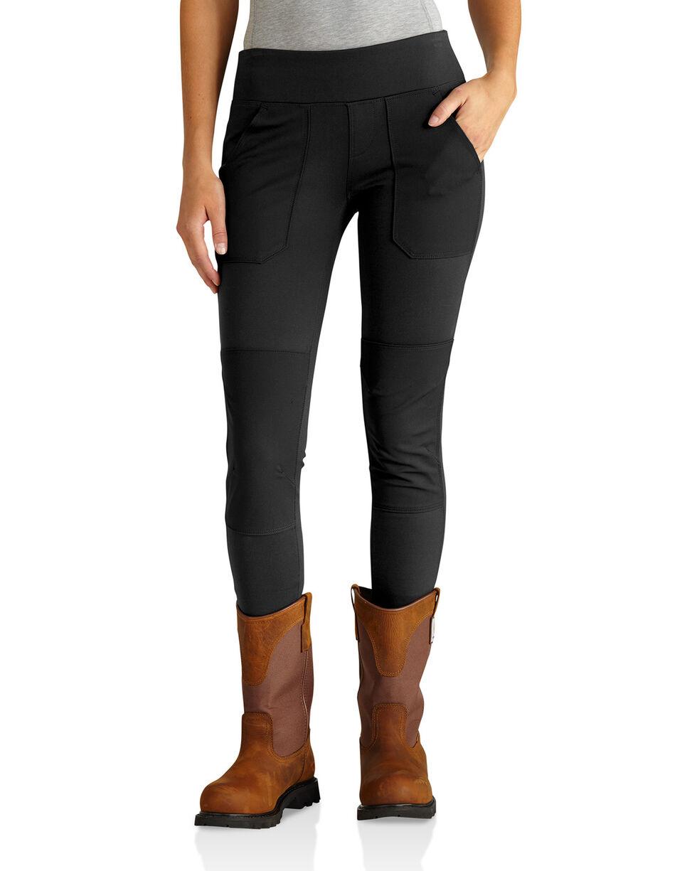 Carhartt Women's Black Force Utility Knit Leggings, Black, hi-res
