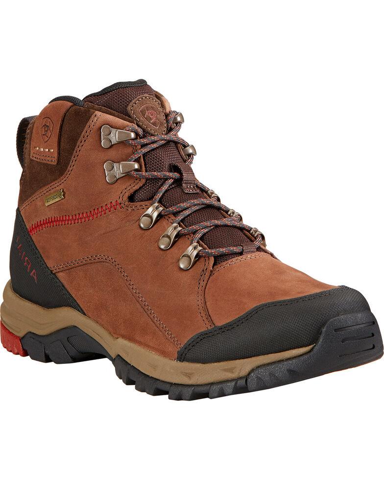 Ariat Men's Skyline Mid GTX Hiking Boots , Chocolate, hi-res