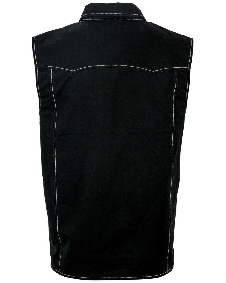 STS Ranchwear Men's Slate Arena Vest - Big , Slate, hi-res