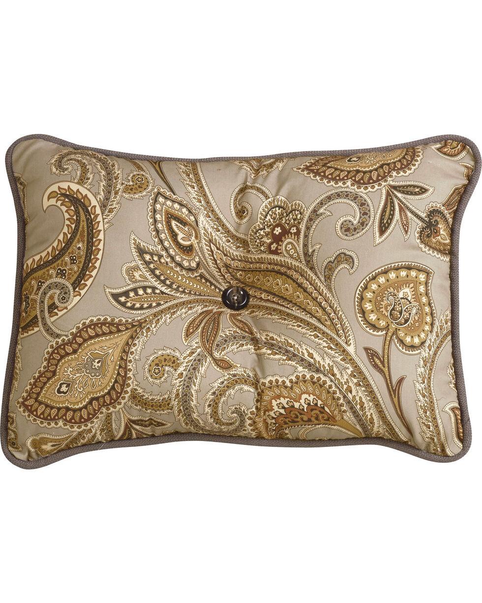HiEnd Accents Piedmont Paisley Pillow, Multi, hi-res