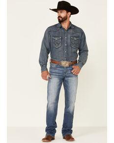 Cody James Men's Finley Light Wash Stackable Stretch Regular Straight Jeans , Blue, hi-res
