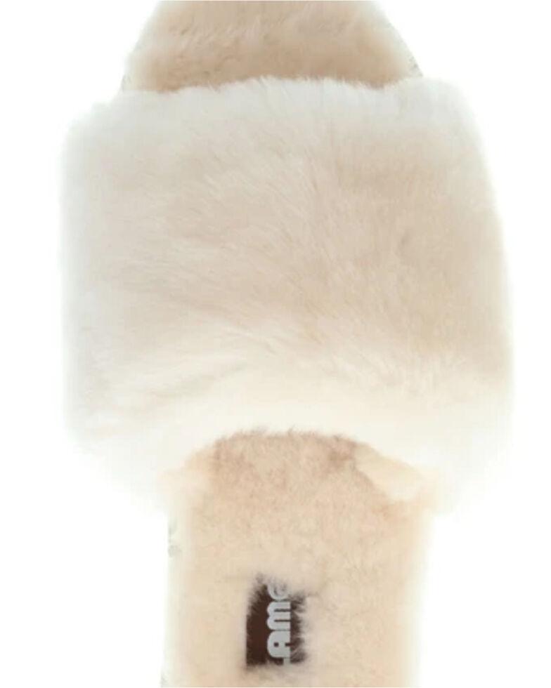 Lamo Women's Naomi Sheepskin Sandals, Cream, hi-res