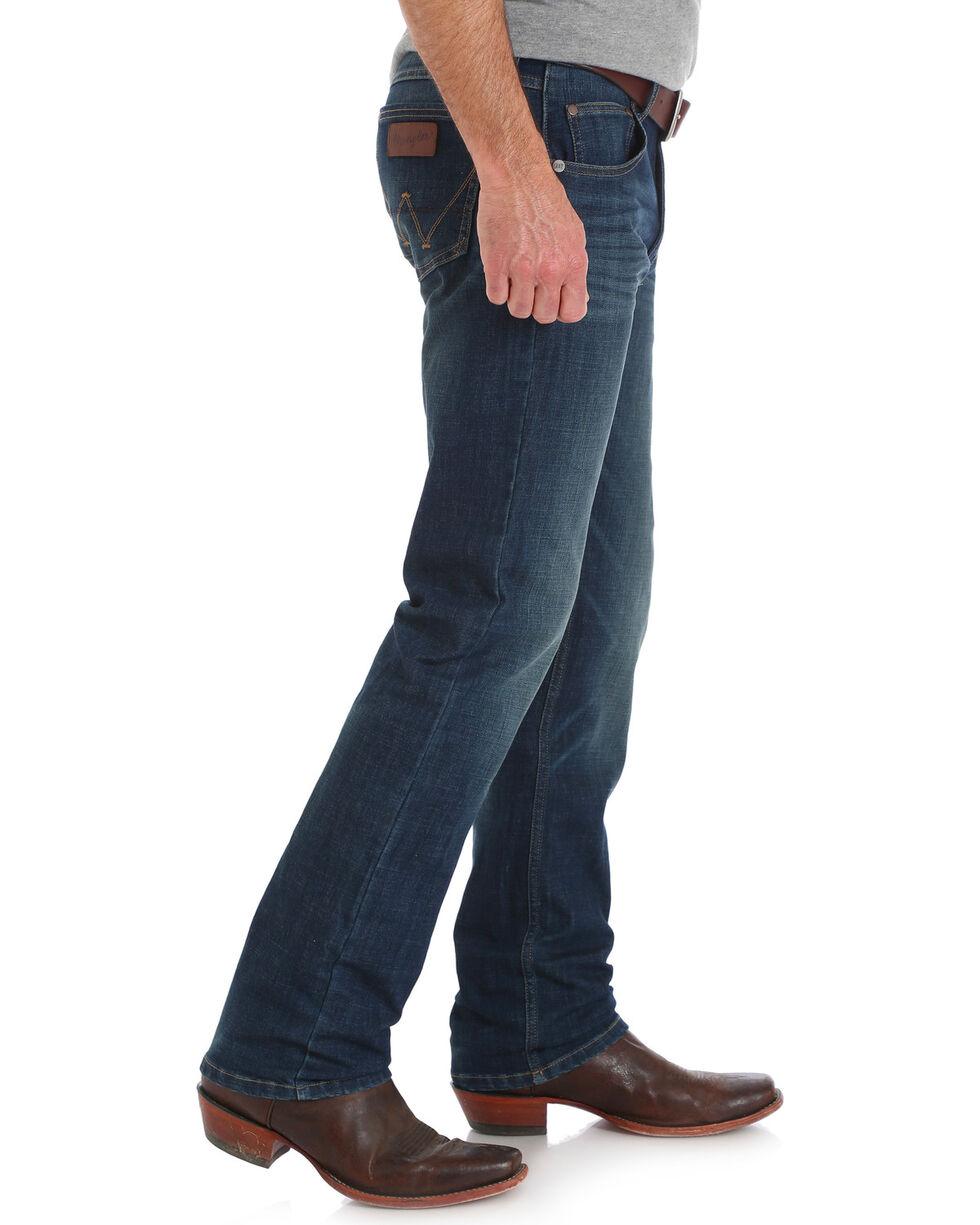 Wrangler Retro Men's Green River Slim Fit Jeans - Straight Leg, Indigo, hi-res