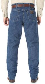 Wrangler Premium Performance Cool Vantage Cowboy Cut Regular Fit Jeans, Dark Stone, hi-res