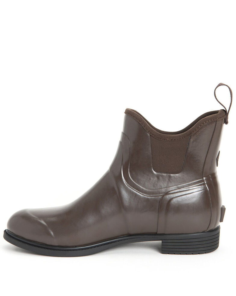 Muck Boots Women's Derby Ankle Boots - Round Toe, Brown, hi-res